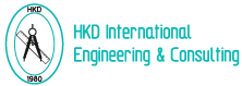 hkd international engineering & consulting logo type